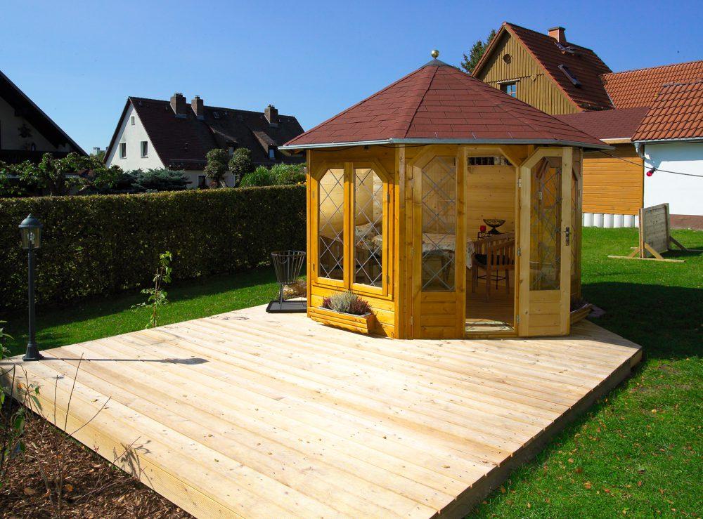 Gartenhäuser aus Holz