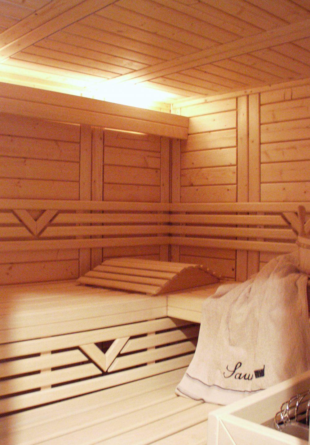 Sauna von Innen